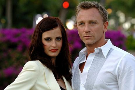 Daniel Craig, Eva Green, Casino Royale