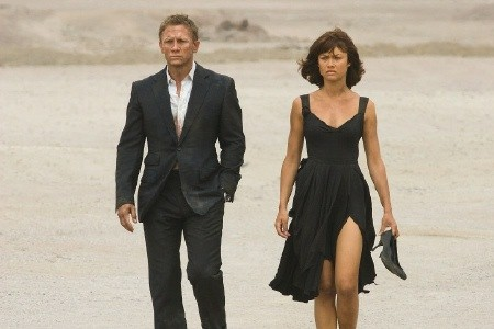 Olga Kurylenko, Daniel Craig, Quantum of Solace