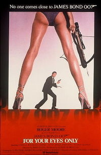 James Bond For Your Eyes Only Poster