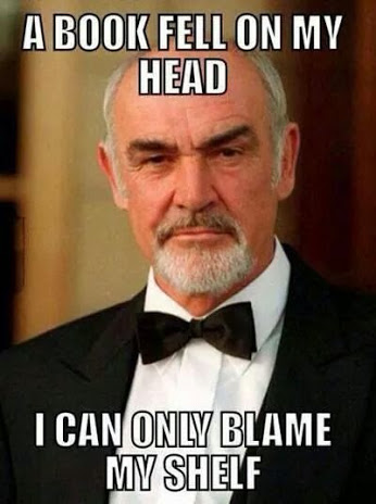 sean connery meme my shelf
