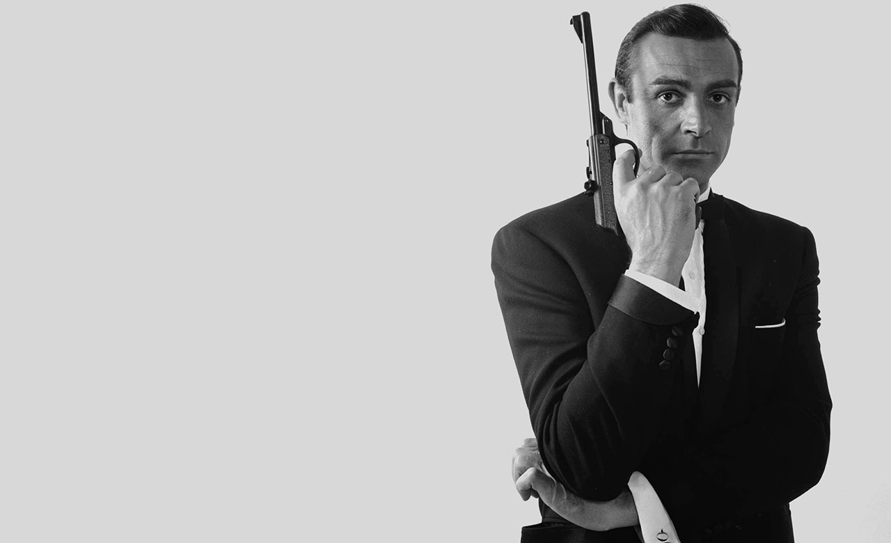 Sean-Connery-James-Bond-bw-1280