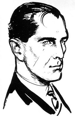 Ian Fleming James Bond 1st impression illustration